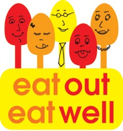Eat Out Eat Well Logo