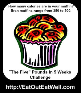 bran muffin with calorie count