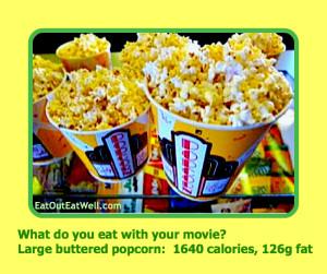 Large popcorn