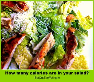 salad, calories