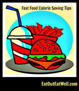 fast food calorie savers