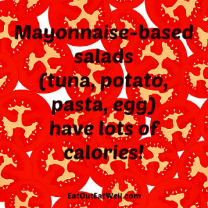 mayonnaise-salads-have-calories