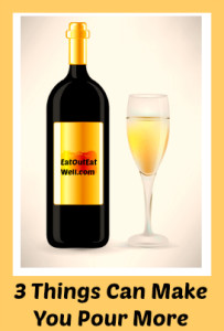 wine bottle and wineglass graphic