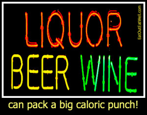 Liquor Beer Wine graphic