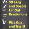 eat out, resolutions