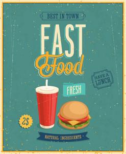 Vintage-Fast-Food-Poster-bigstockVect-49914365