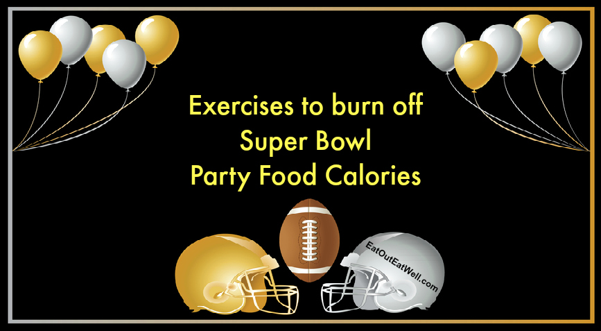 Exercises to burn off Super bowl party calories