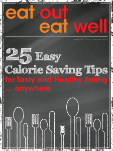 Eat Out Eat Well magazine cover, issue 5