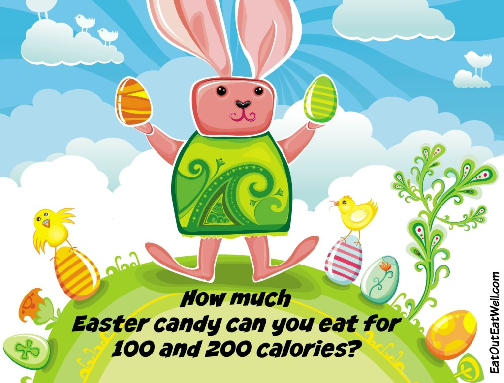 Easter candy, 100 and 200 calories
