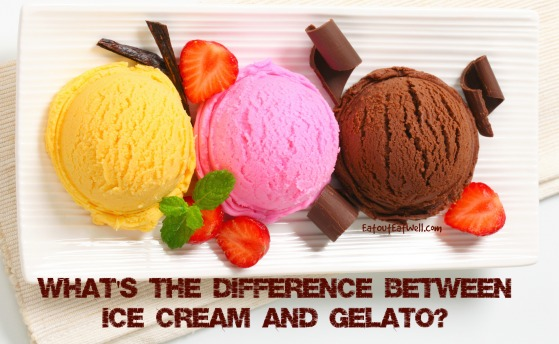 Difference Between Ice Cream and Gelato